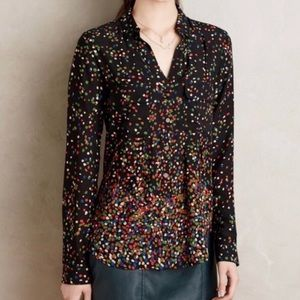 Anthropologie Maeve Wynwood blouse